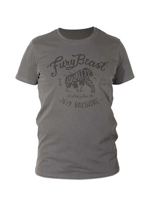 T-SHIRT DMD FURY BEAST GREY L