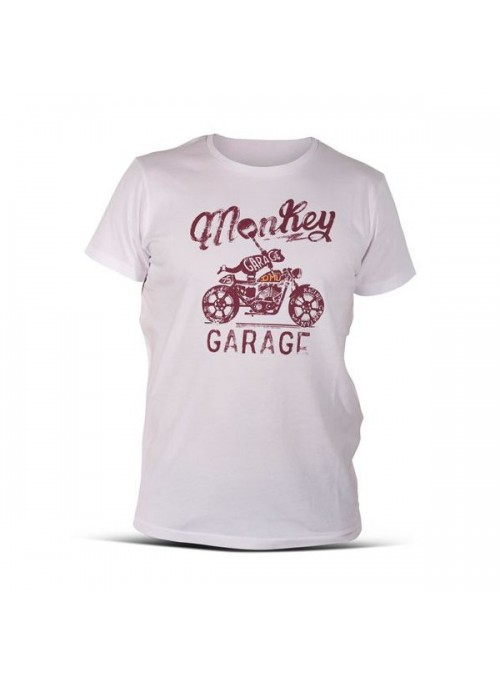 T-SHIRT DMD MONKEY WHITE XL