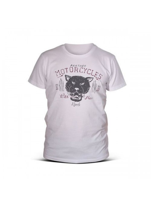 T-SHIRT DMD PANTHER WHITE L
